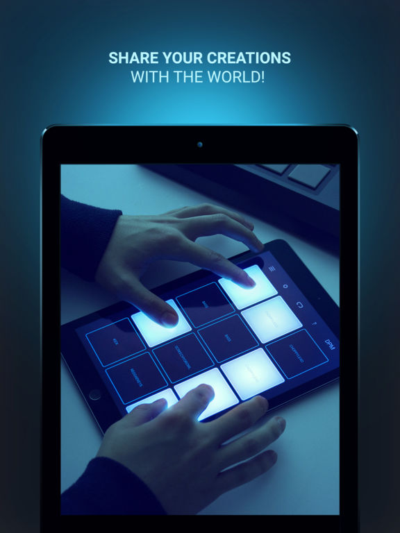 app shopper dubstep drum pad machine music. Black Bedroom Furniture Sets. Home Design Ideas