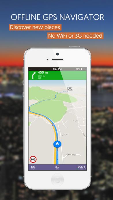 Riga, Latvia, Offline Auto GPS