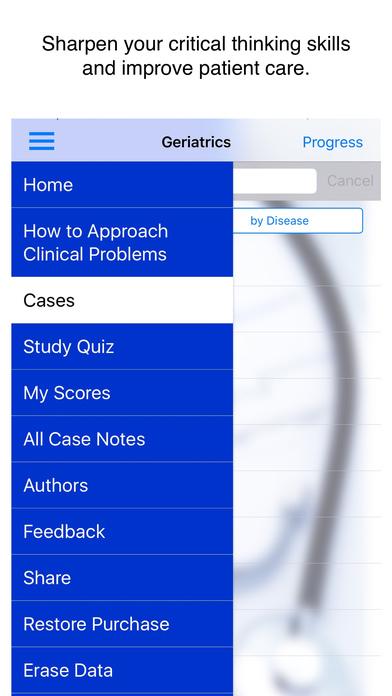 Case study in geriatric