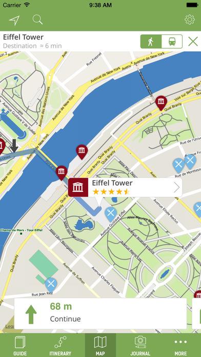 Paris Travel Guide (with Offline Maps) - mTrip Screenshots