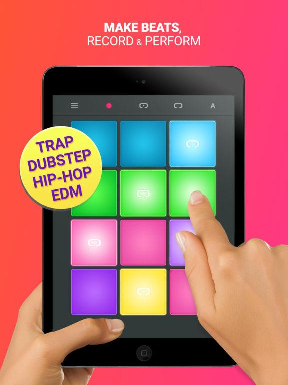 app shopper drum pad machine 24 sound pads for beat maker music. Black Bedroom Furniture Sets. Home Design Ideas