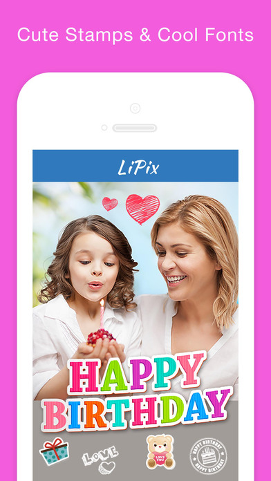 LiPix - Photo Collage, Picture Editor Screenshot on iOS