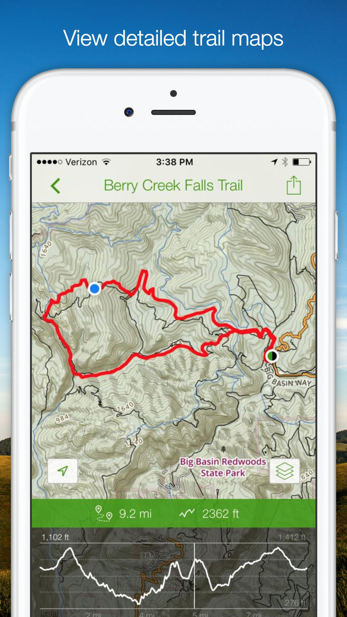 AllTrails - Hiking, Running & Biking Trails Screenshot