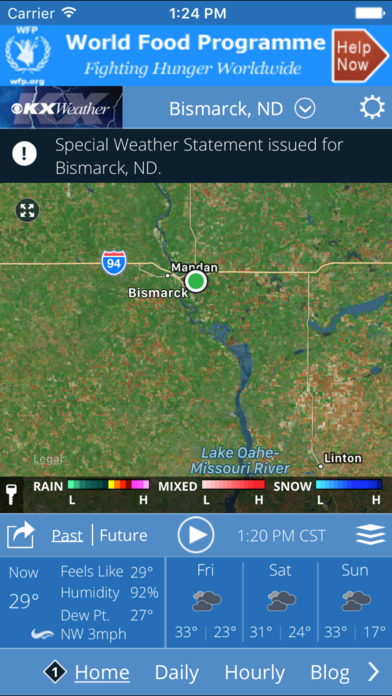 Kx Weather App For Iphone