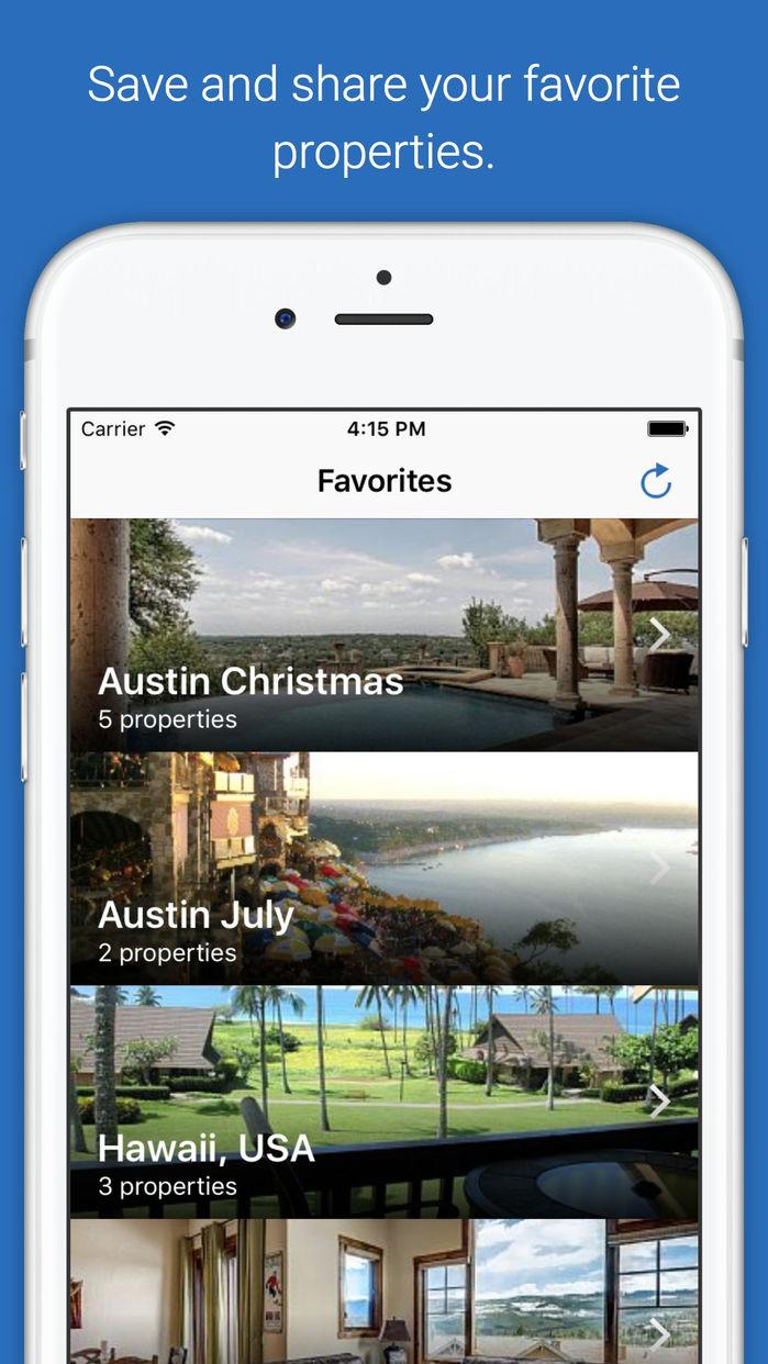 HomeAway & VRBO Vacation Rentals Screenshot