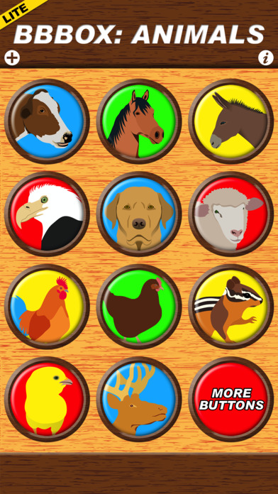 Big Button Box: Animals Lite - sound effects App Report on Mobile