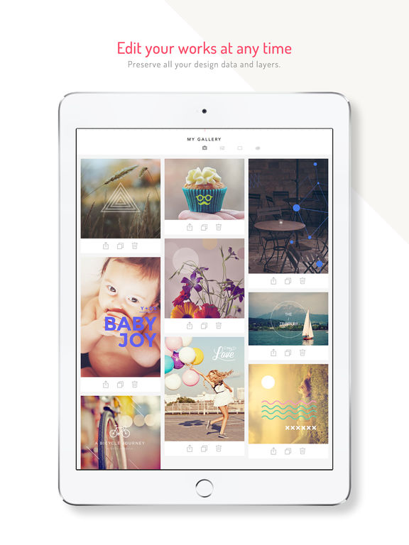 MocaDeco - Photo Editor & Visual Creator Screenshot