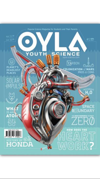 OYLA Youth Science magazine, Zinio International S L  — iPad