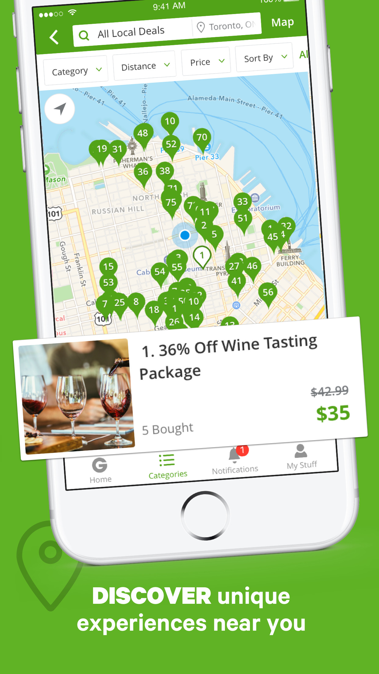 Groupon - Deals, Coupons & Discount Shopping App Screenshot