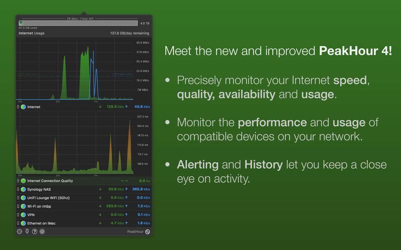 PeakHour 4 for Mac 4.0.2 激活版 - Mac上优秀的实时网络监控工具