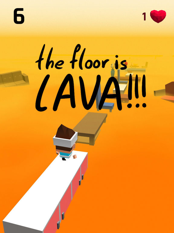 The Floor Is Lava Games Action Entertainment Arcade Free