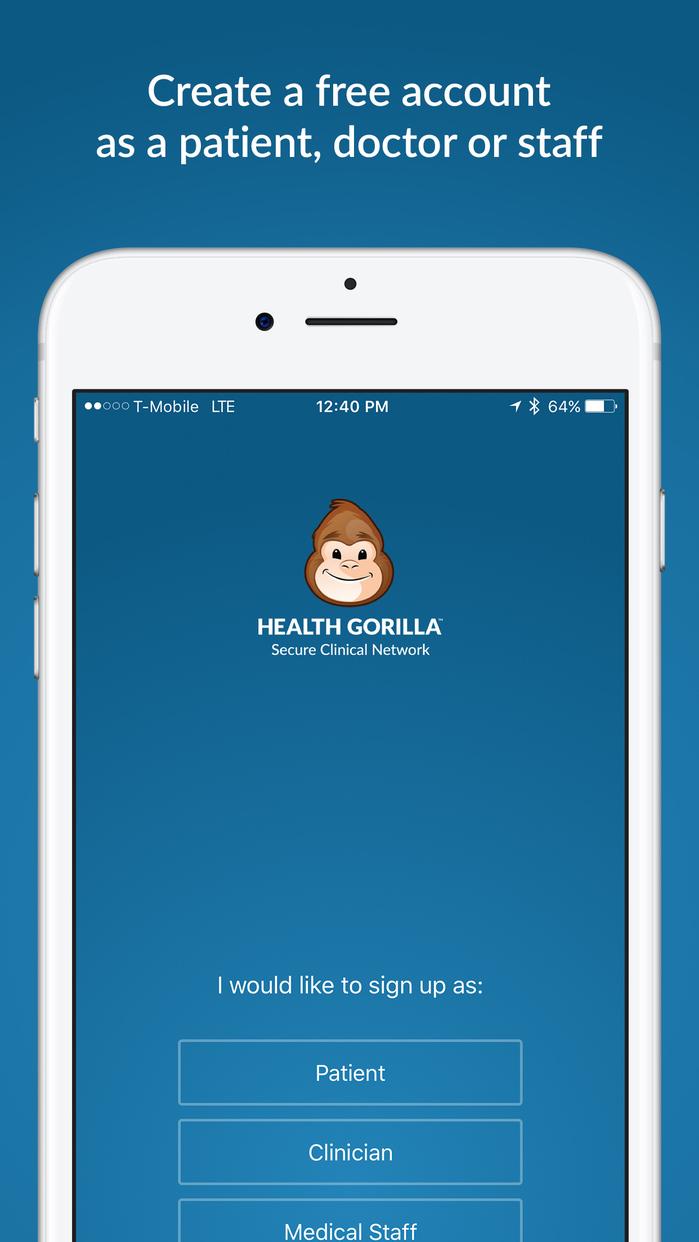 Health Gorilla Screenshot