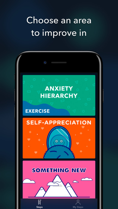 Steps: Beat social anxiety Screenshot