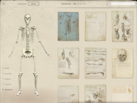 Leonardo da Vinci: Anatomy Screenshots