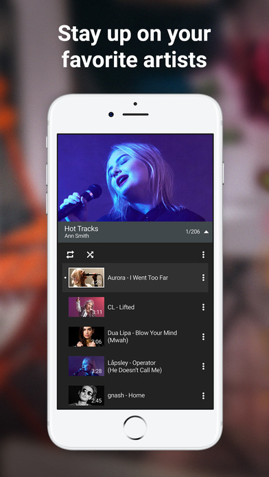 Watch Videos, Music, And Live Streams On The App