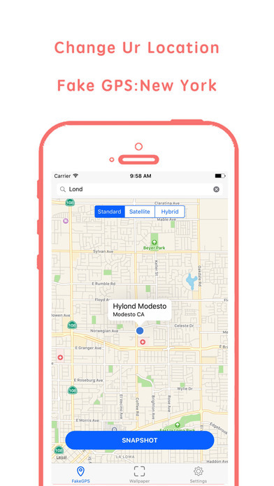 Fake GPS & Fake location Pro IPA Cracked for iOS Free Download