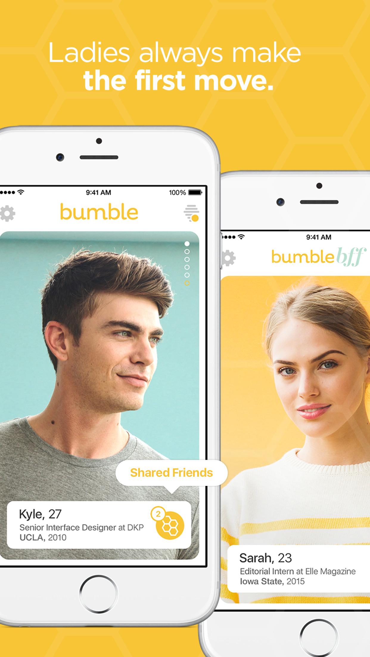 Bumble – Find a Date, Meet Friends & Network Screenshot