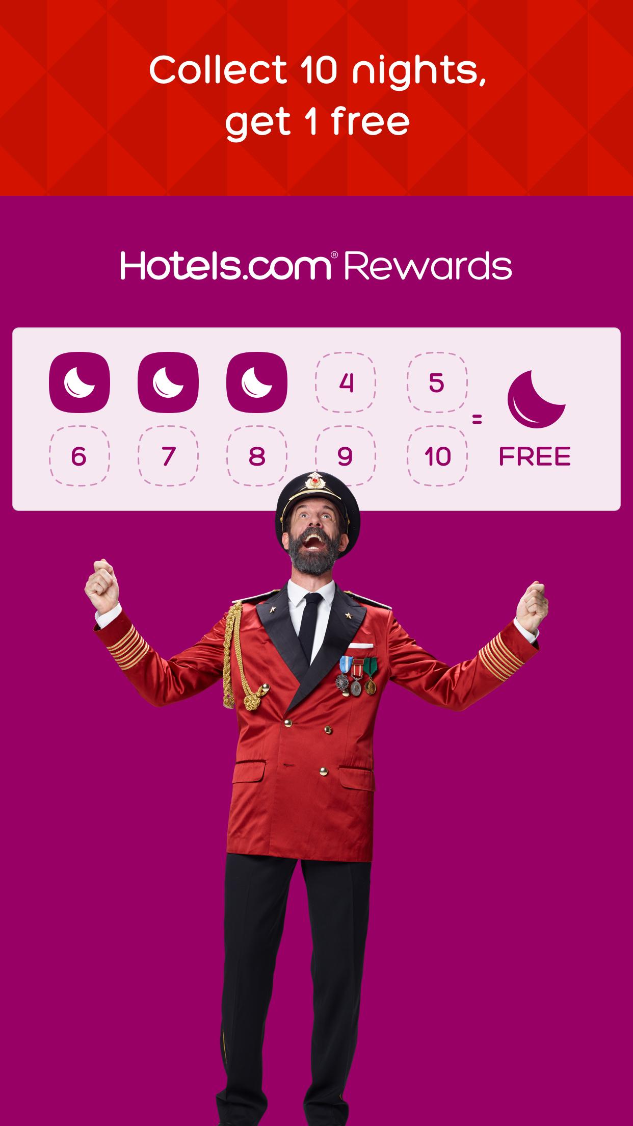 Hotels.com - Hotel booking and last minute deals Screenshot