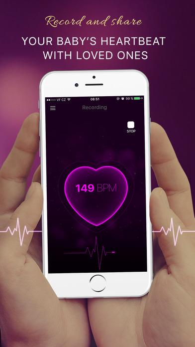 App Shopper Baby Heartbeat Monitor Fetal Heart Beat