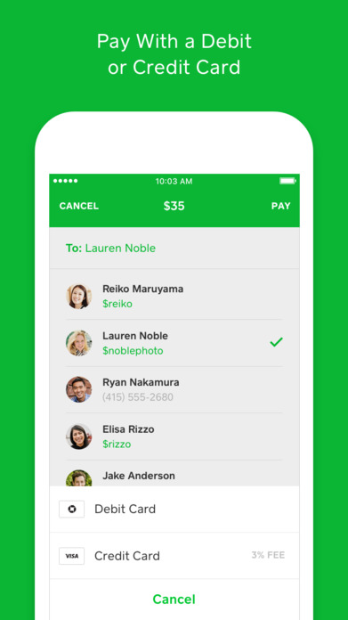 Square Cash - Send Money for Free Screenshot