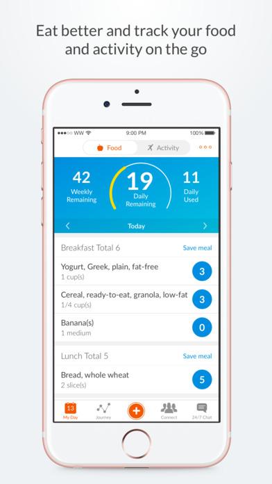 App ähnlich Weight Watchers