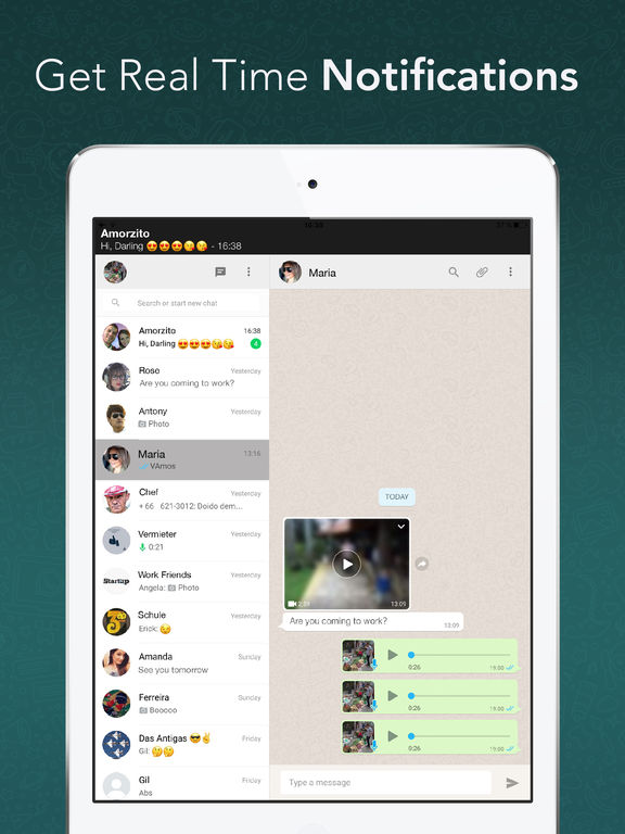 installez whatsapp messenger ipad 2