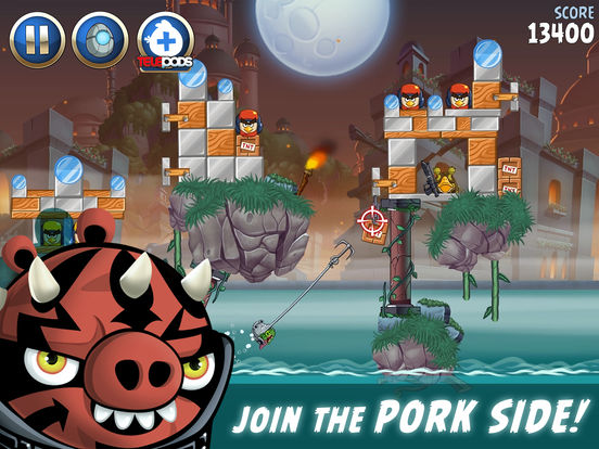 #2. Angry Birds Star Wars II (iOS)