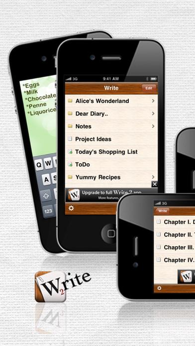 New writing app