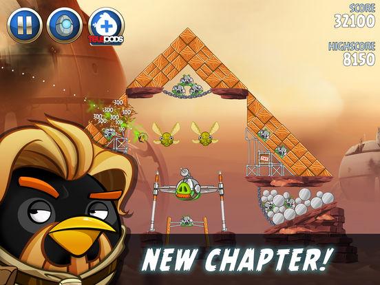 #4. Angry Birds Star Wars II (iOS)