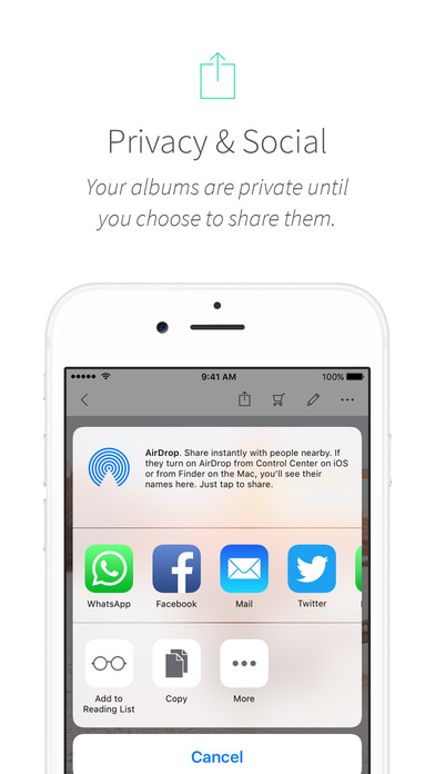 MyAlbum - Photo Albums Reinvented Screenshot