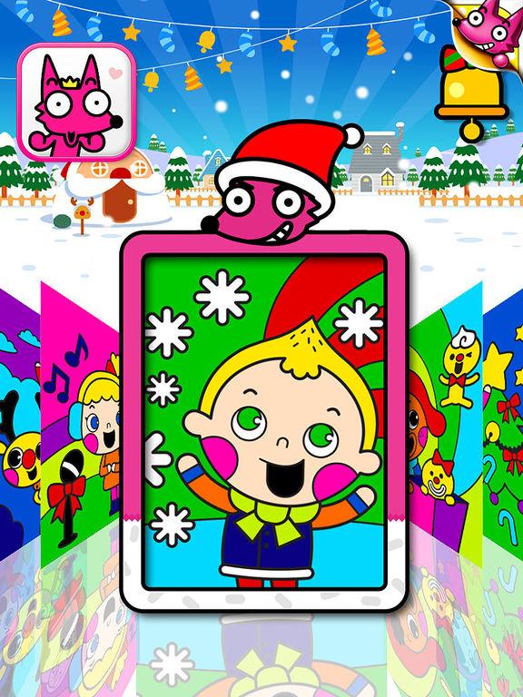 App Shopper: Best Kids Christmas Coloring Book (Entertainment)