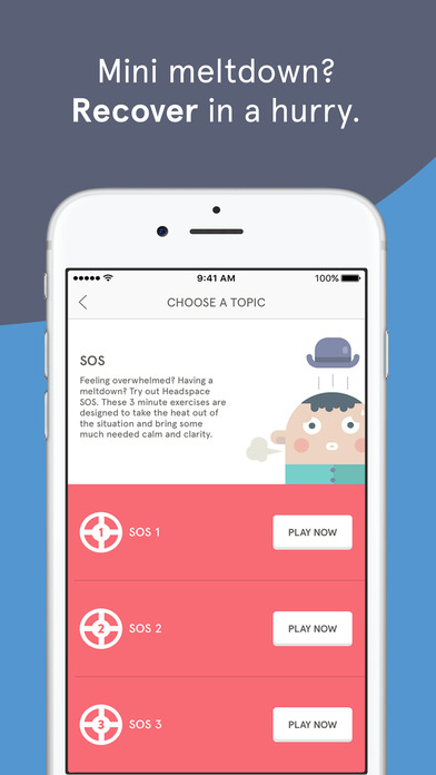Headspace: Guided Meditation and Mindfulness Screenshot