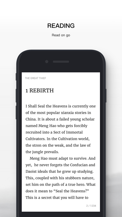 News - Qidian iOS APP is online now! | Novel Updates Forum