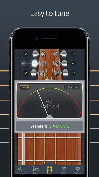 app shopper doubletune tuner for guitar ukulele and bass music. Black Bedroom Furniture Sets. Home Design Ideas