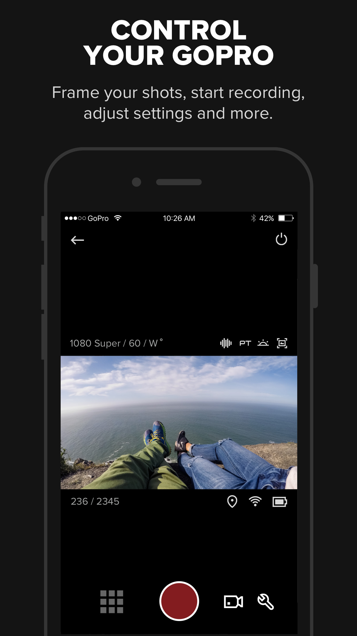 GoPro (formerly Capture) – Featuring QuikStories Screenshot