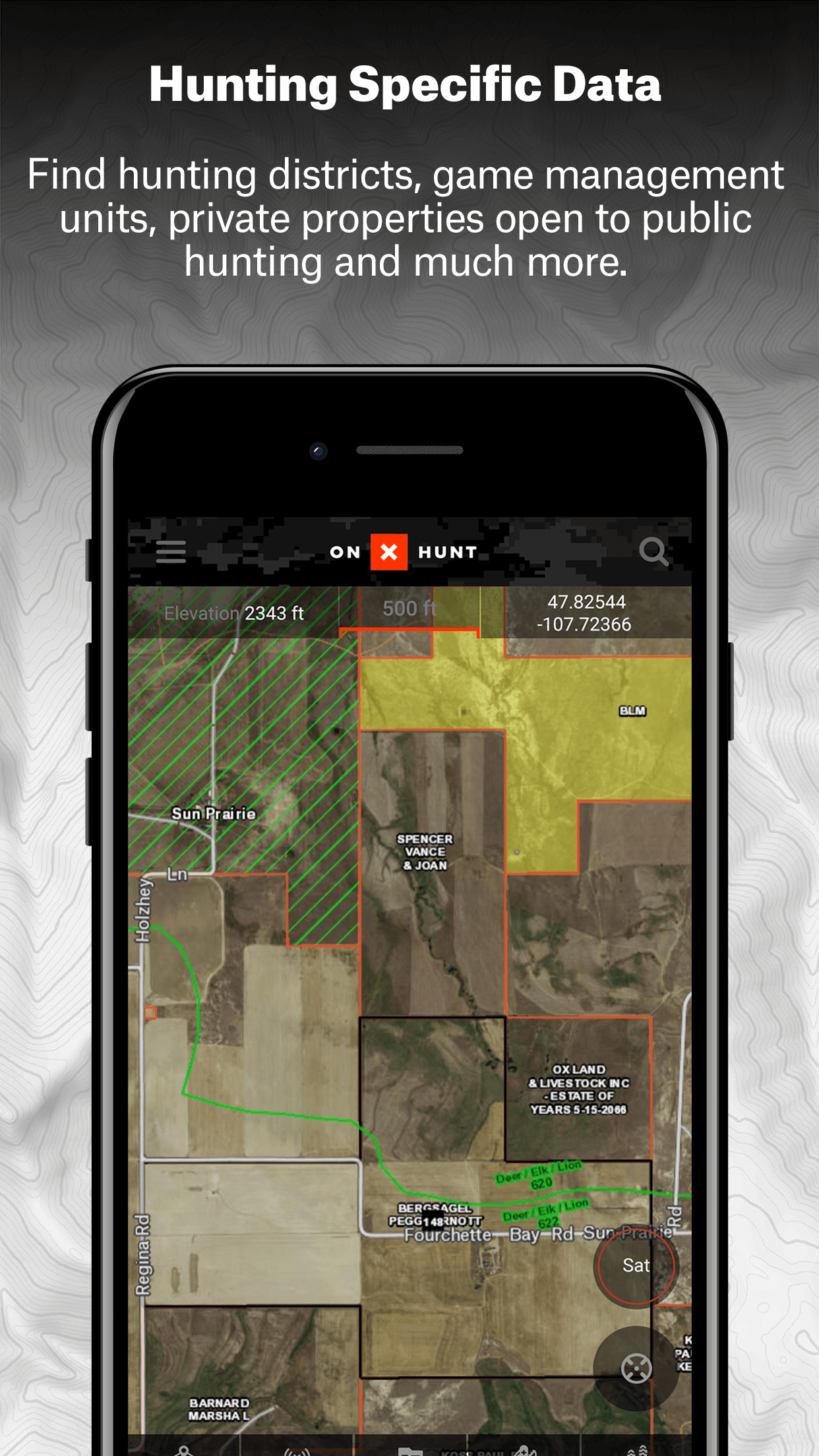 onX Hunt Hunting GPS Maps with Offline US Topo Screenshot