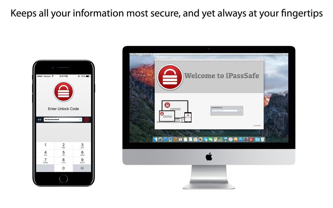 iPassSafe - Password Safe