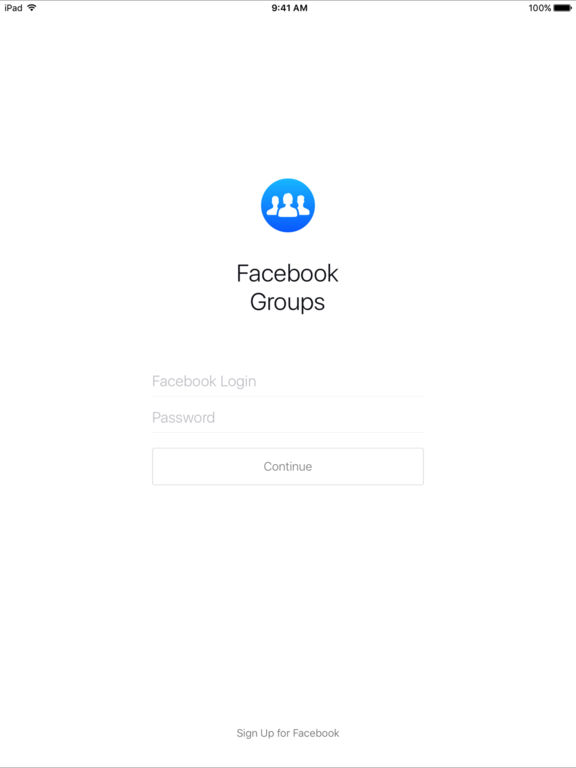 Facebook Groups-ipad-0