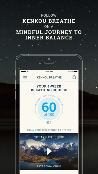 Breathe Pro: Professional breathing course Screenshot