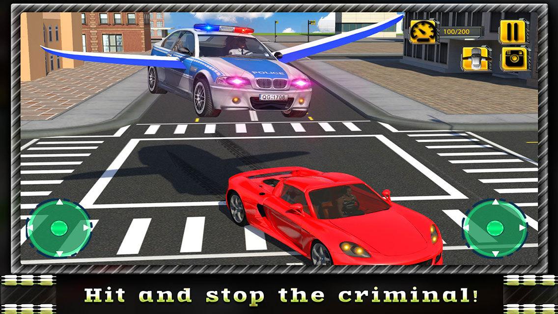 Car Chase Games: App Shopper: Flying Car Police Chase (Games