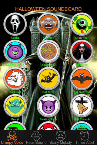 Halloween Night Sound Effects Box Free - Ghostly Voice, Scary Sound