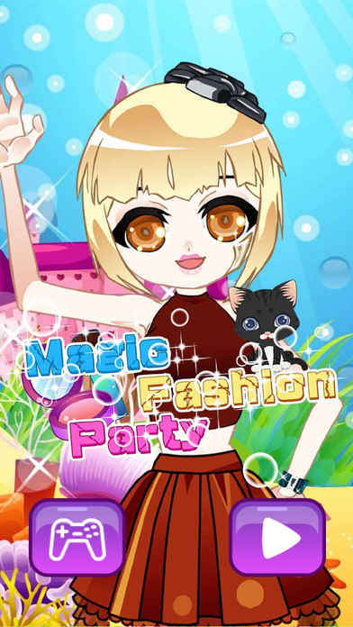 Magic Fashion Party - Sweet Cute Elfin's Fantastic Closet, Girl Funny Games Screenshot on iOS