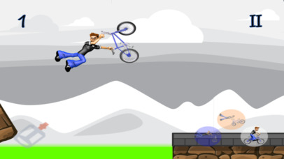 BMX Go! Screenshot on iOS