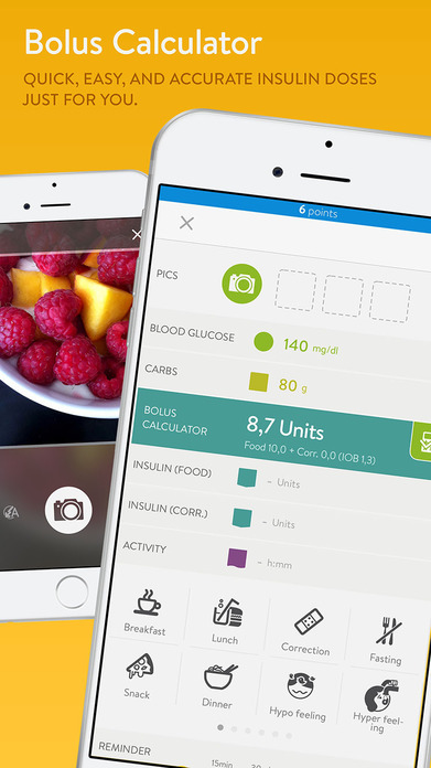 mySugr: Easy to use daily diabetes logbook Screenshot