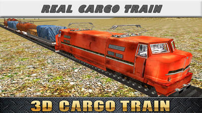 3D Cargo Train Game - Free Train Driving Simulation Game
