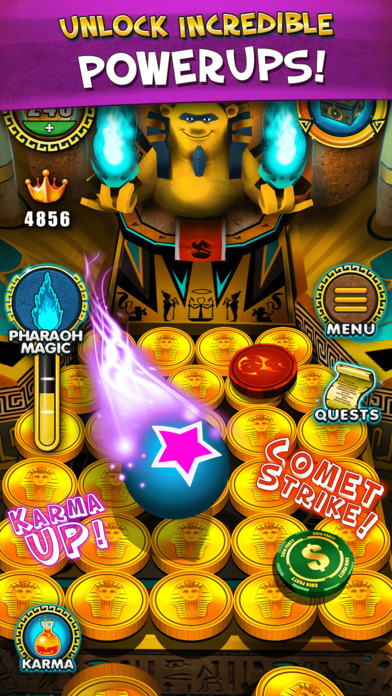 Pharaoh's Party: Coin Pusher Tips, Cheats, Vidoes and Strategies