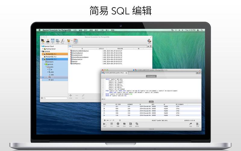 Navicat Essentials for PostgreSQL for Mac