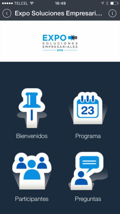 Expo Soluciones Empresariales Screenshot on iOS