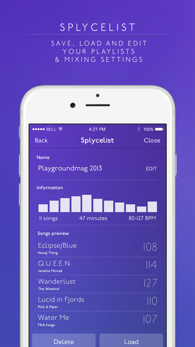 Splyce Premium - music player & dj mixer Screenshot