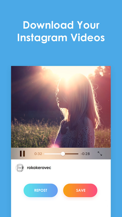 InstaSave for Instagram- Download Your Own Photo & Videos from Instagram and Repost for Free Screenshot